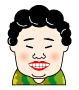 おばさん似顔絵